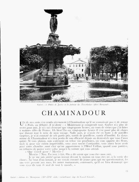 rencontres de chaminadour 2011